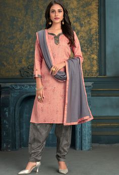 #Cotton #fabric is the #best #fabric in any #weathers, cotton #salwar #kameez is the best choice for any #girls or #womens, #Nikvik is the #bestseller of cotton salwar #suits in #USA #AUSTRALIA #CANADA #UAE #UK Punjabi Salwar Suits, Patiala Suit, Churidar Suits, Anarkali Suits, Cotton Salwar Kameez, Traditional Indian Wedding, Looks Chic, Work Looks, Suits For Women