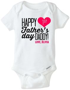 Fathers day onesie