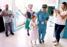 Médicos de Haifa curan enfermedad hematológica de refugiada siria