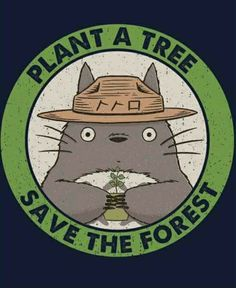 If only this was a tee #totoro #forest #plantatree #studioghibli