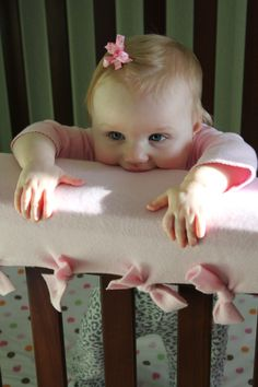 Easy DIY Crib Teething Guard