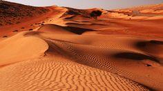 Wahiba Desert in Oman. Sandy desert Wahiba in Oman, Middle East , Dubai Safari, Rub' Al Khali, Audley Travel, Dubai Holidays, Dubai Desert, Oman Travel, Expedition Vehicle, Lost City, Nature Images