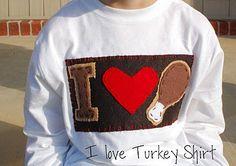 I love turkey!  :)  Cute!