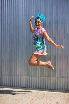 funky dress spring outfit