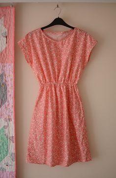 Staple dress pattern. Pockets! Hem variations! Beginner friendly!