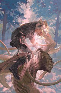 Spike Graphic Novel cover by StevenJamesMorris on deviantART