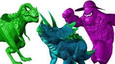 Spider Dinosaur Vs animals Fight | Dinosaur Vs Gorilla Fight | Dinosaur Movies For Children | Rhymes https://youtu.be/oObTX34zyIM