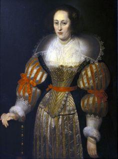 Portrait d'une femme, 1630 Cornelis de Vos