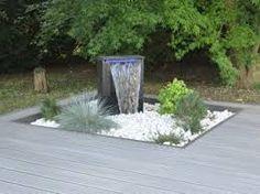 """Résultat de recherche d'images pour """"fontaine jardin contemporaine"""""""