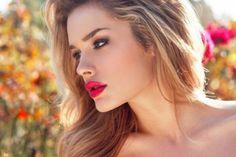 rouge a levre rouge blonde | 23 Idées pour un rouge à lèvres de mariée magnifique