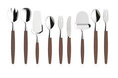 Bestikk, Skaugum of Norway (nature Kebony) Kitchen Drawers, Kitchen Tools, Teak, Norway Design, Norway Nature, Knock On Wood, Kitchenware, Tableware, Mid Century Style