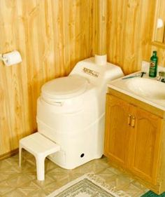 Order Sun-Mar self-contained composting toilets here. Ideal alternative to an expensive septic system for rural homes, cottages, cabins, remote lodges. Liquid Waste, Off Grid House, Built In Furniture, Furniture Ideas, Small Toilet, Composting Toilet, Septic System, Organic Living, Save Water