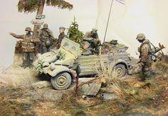 Dioramas and Vignettes: Kurland, October 1944, photo #1