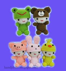 Ravelry: Little Babies, Amigurumi crochet pattern pattern by Sayjai Thawornsupacharoen