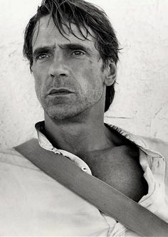 Jeremy Irons // photo by Andre Rau.bHe is my character William Croft II. There's something about his eyes...