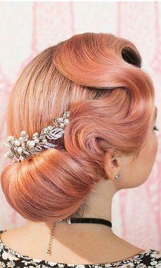 short wedding hairstyle ideas 28
