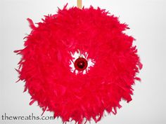 Red Christmas Wreath by thewreaths