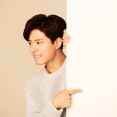 Park Bo Gum for G9 behind the scenes