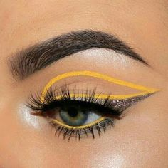 Gold Eye Makeup For Brown Eyes every Eye Makeup Tutorial Pictures under Eyeliner Stamp Patent Glam Makeup, Pretty Makeup, Skin Makeup, Makeup Inspo, Eyeshadow Makeup, Makeup Art, Beauty Makeup, Cut Crease Eyeshadow, Makeup Trends