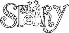 Spooky design (UTH3826) from UrbanThreads.com