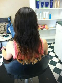 Ombre' Hair by Amber @ A Kuttin Shop