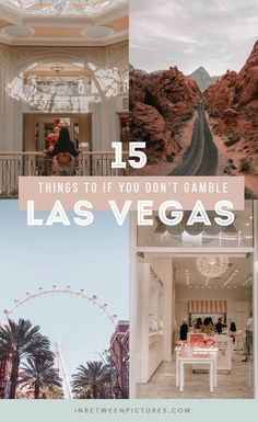 What to do in Las Vegas besides gamble? Plenty, here are 15 fun things to do in Las Vegas if you don't gamble. Day trip from las Vegas, museums, and more! Non-gamblers guide to Las Vegas. No casinos! Las Vegas Hotels, Las Vegas Vacation, Visit Las Vegas, Trips To Las Vegas, Las Vegas Tours, Las Vegas Food, Vegas Fun, North Las Vegas, Las Vegas Nevada