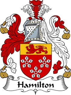hamilton irish coat of arms