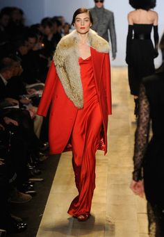 Beautiful reds for Fall 2012 Michael Kors