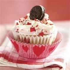 Funfetti® Valentine Cookies 'n Cream Cupcakes