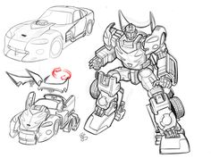Transformers Hotrod Earth Mode by ~EJ-Su on deviantART