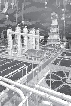 The Construction of Bloomfield Fracking Station. Image © Jason Lamb