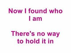 I really like this song, this is me this is Angelique if you don't like it get out. Demi Lovato ft. Joe Jonas- This Is Me with lyrics