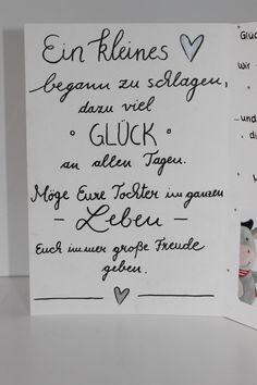 Glückwunschkarte zur Geburt III – – Creativ Quartier – You are in the right place about diy birthday karte Here we offer you the most beautiful pictures about the diy birthday outfit you are looking f Diy Birthday, Birthday Cards, Birthday Gifts, Art Furniture, Baby Party, Baby Gifts, Diy And Crafts, About Me Blog, Presents