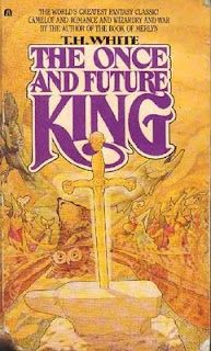 The Once and Future King by T.H. White  Includes: The Sword in the Stone, The Queen of Air and Darkness, The Ill-Made Knight, and The Candle in the Wind