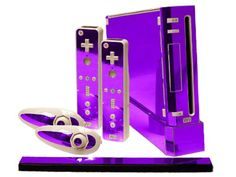 Red Chrome Mirror Vinyl Decal Faceplate Mod Skin Kit for Nintendo Wii Console by System Skins Nintendo Game Consoles, Nintendo Wii Controller, Nintendo 3ds, Games Consoles, Nintendo Switch, Purple Games, Cry Anime, Anime Art, Mirror Vinyl