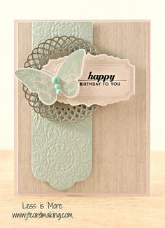 use the papertreyink die cuts after embossing