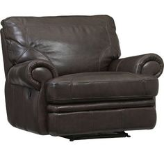 Bentley Leather Recliner In Walnut 799 99 Havertys Furniture Love It