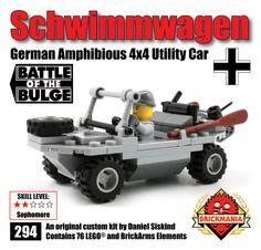 Brickmania - Schwimmwagen, $40.00 (http://www.brickmania.com/schwimmwagen/)