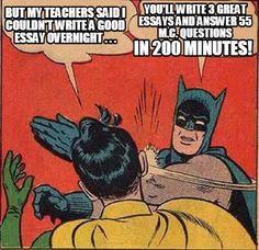 Meme Creator - But my teachers said I couldn't write a good essay overnight . . . You'll write Meme Generator at MemeCreator.org!