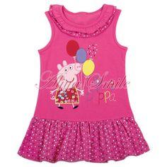 Peppa Pig Girl Polka Dots Top Dress Ruffle Heart T Shirt Floral Tutu Skirt Peppa Pig Dress, Pig Girl, Kids Zone, Ruffle Dress, Boutique Clothing, Tutu, Polka Dots, Girls Dresses, Pig Ideas