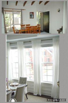 75+ Beautiful Windows Treatment Ideas | Window, Valance and Living rooms
