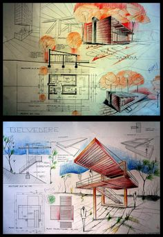 Schita de schita done at school time 6 hours each Architecture Sketchbook, Architecture Graphics, Landscape Architecture, Architecture Design, Schematic Design, Kunst Poster, Sketch Design, Layout Design, Planer