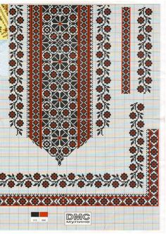 Beading _ Pattern - Motif / Earrings / Band ___ Square Sttich or Bead Loomwork ___ gallery. Cross Stitch Borders, Cross Stitch Charts, Cross Stitch Designs, Cross Stitching, Cross Stitch Patterns, Folk Embroidery, Cross Stitch Embroidery, Embroidery Patterns, Palestinian Embroidery