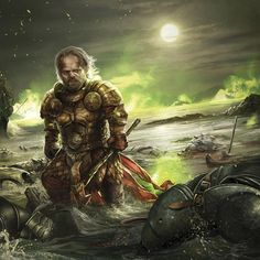 """A Song of Ice and Fire Calendar • art by Magali Villeneuve • April 2016 • """"On the Blackwater"""""""