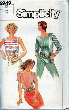 Simplicity sewing pattern 6949