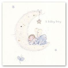 Cards » a baby boy » a baby boy - Berni Parker Designs