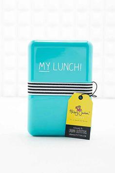 Boîte à repas ornée de l'inscription « My Lunch »