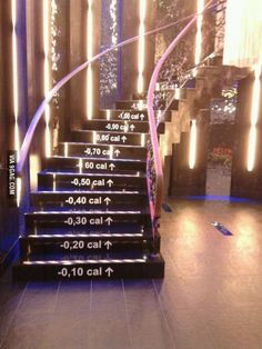 The perfect set of stairs for a gym