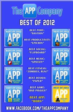 Top Apps of 2012 rat