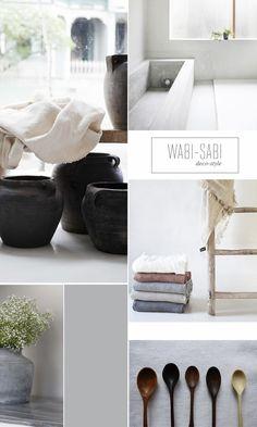 MOODBOARD: WABI-SABI | | Harmony and design |